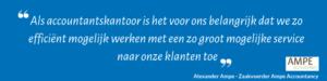 Referentie Alexander Ampe voor COMAX