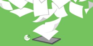 Papierloos kantoor - Go Green